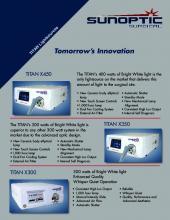 Sunoptic Surgical, Product Catalogue