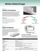 WIS1000 wireless transmitter